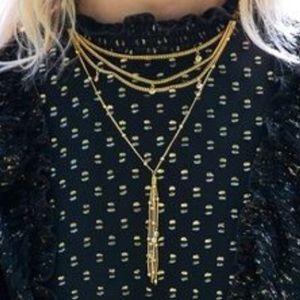 Ettika Chloe Tassel Necklace!! NEW!!